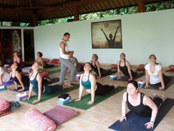 Yoga and meditation in Bali