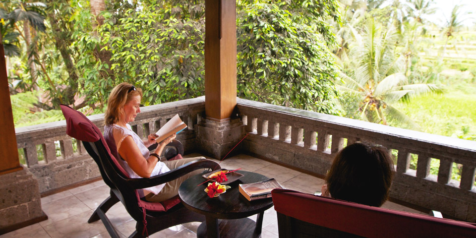 comfortable accommodation in Ubud, Bali