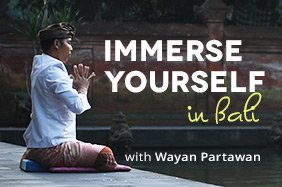 Wayan Partawan's yoga retreat in Bali