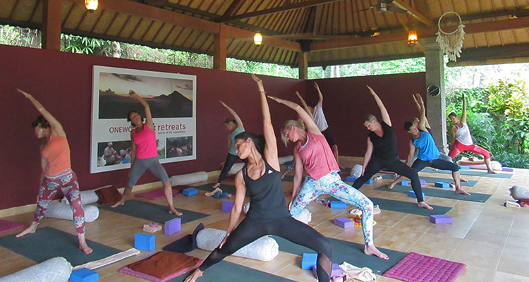 yoga retreat in bali with marleen feremans