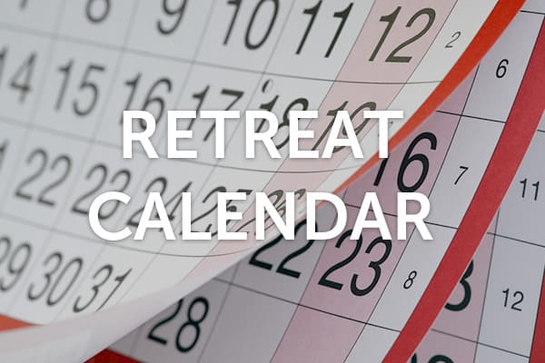 bali retreat calendar